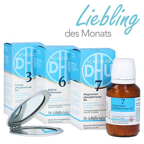 DHU Immun-Kur Nr. 3 + 6 + 7 + gratis Handspiegel 1 Stück