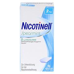 Nicotinell 2mg Spearmint 96 Stück - Vorderseite