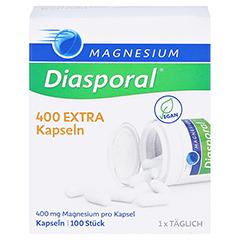 MAGNESIUM DIASPORAL 400 Extra Kapseln 100 Stück - Vorderseite