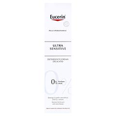 Eucerin UltraSensitive Reinigungslotion + gratis Konjac-Schwamm 100 Milliliter - Rückseite