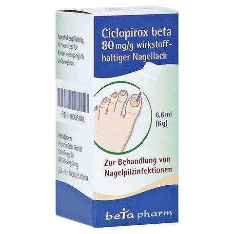 Ciclopirox beta 80mg/g 6.6 Milliliter N2