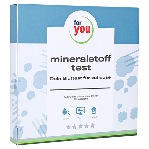 FOR YOU mineralstoff-Test 1 Stück