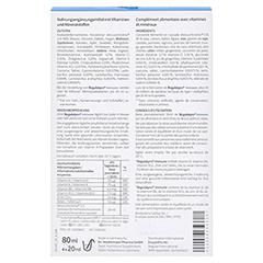 REGULATPRO Immune flüssig 4x20 Milliliter - Rückseite