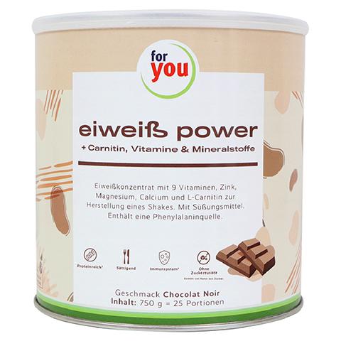 FOR YOU eiweiß power Schoko 750 Gramm