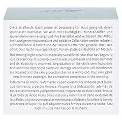 LA MER SUPREME Natural Lift Anti Age Cream Nacht ohne Parfüm 50 Milliliter - Rückseite