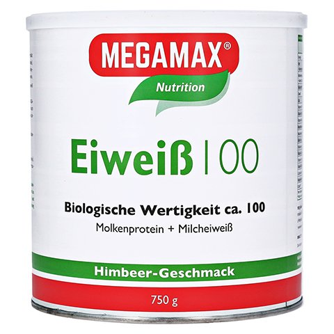 EIWEISS Himbeer Quark Megamax Pulver 750 Gramm
