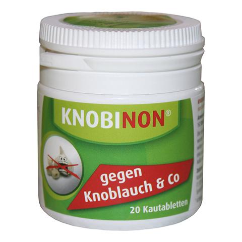 KNOBINON Kautabletten Dose 20 Stück