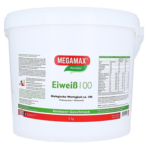 EIWEISS 100 Himbeer Quark Megamax Pulver 5000 Gramm