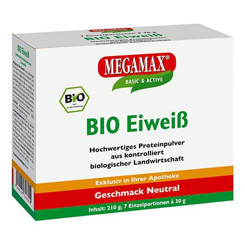 BIO EIWEISS Neutral Megamax Pulver 7x30 Gramm