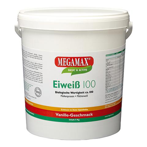 EIWEISS 100 Vanille Megamax Pulver 5000 Gramm
