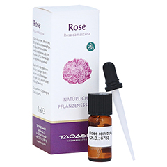 Taoasis Rose rein bulgarisch Öl Bio mit Spezialpipette 1 Milliliter