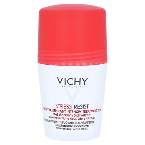 Vichy Deo Stress Resist Anti-Transpirant Roll-on 72h 50 Milliliter