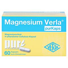 Magnesium Verla purKaps vegane Kapseln zum Einnehmen 60 Stück - Vorderseite
