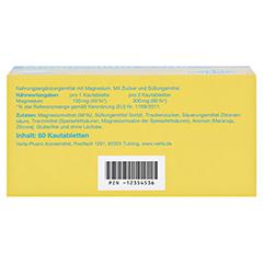 Magnesium Verla Kautabs 60 Stück - Unterseite