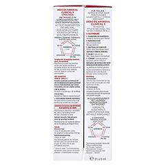 Vichy Dercos Aminexil Clinical 5 für Frauen 21x6 Milliliter - Rechte Seite