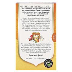 YOGI TEA Kurkuma Chai Bio Filterbeutel 17x2 Gramm - Rückseite