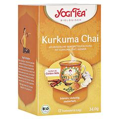 YOGI TEA Kurkuma Chai Bio Filterbeutel 17x2 Gramm