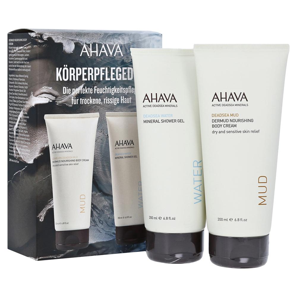 ahava-dermud-body-cre-shower-gel-kit-2x200-milliliter