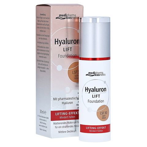 HYALURON LIFT Foundation LSF 30 soft gold 30 Milliliter