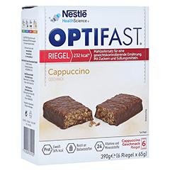 OPTIFAST Riegel Cappuccino 6x65 Gramm