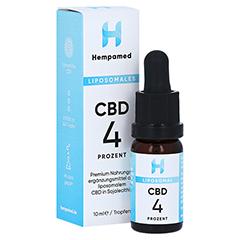 HEMPAMED CBD liposomal 4% Tropfen 10 Milliliter