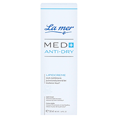 LA MER MED+ Anti-Dry Lipidcreme o.Parfum 50 Milliliter - Vorderseite