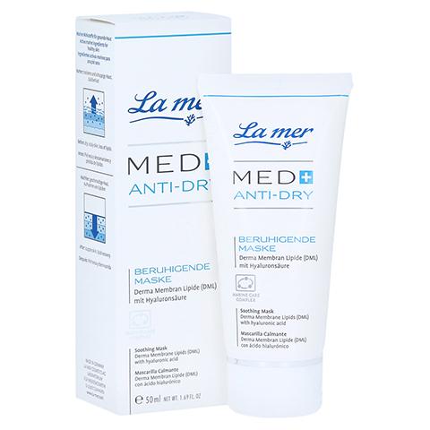 LA MER MED+ Anti-Dry beruhigende Maske o.Parfum 50 Milliliter