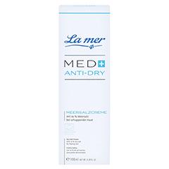 LA MER MED+ Anti-Dry Meersalzcreme ohne Parfum 100 Milliliter - Vorderseite
