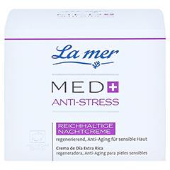 LA MER MED+ Anti-Stress reichhalt.Nachtcre.o.Parf. 50 Milliliter - Vorderseite