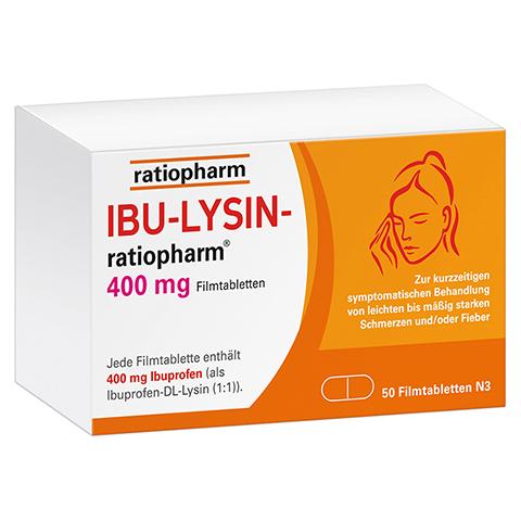 IBU-LYSIN-ratiopharm 400mg 50 Stück N3
