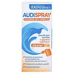 Audispray Junior Ohrenspray 25 Milliliter - Rückseite