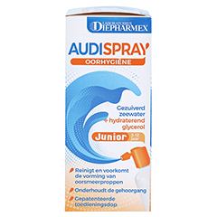 Audispray Junior Ohrenspray 25 Milliliter - Linke Seite