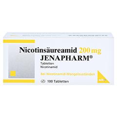 NICOTINSÄUREAMID 200 mg Jenapharm Tabletten 100 Stück N3 - Vorderseite