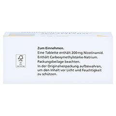 NICOTINSÄUREAMID 200 mg Jenapharm Tabletten 100 Stück N3 - Oberseite