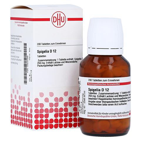 SPIGELIA D 12 Tabletten 200 Stück N2