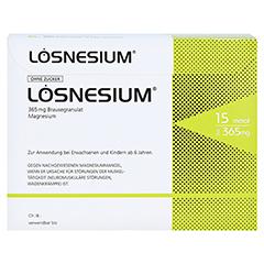 Lösnesium Brausegranulat 50 Stück N2 - Vorderseite
