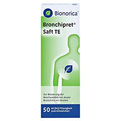 Bronchipret Saft TE 50 Milliliter N1 - Vorderseite