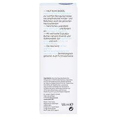EUBOS KINDER Haut Ruhe Badeöl 125 Milliliter - Rückseite