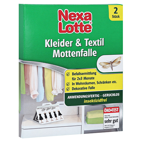 NEXA LOTTE Kleider- & Textil-Mottenfalle 2 Stück