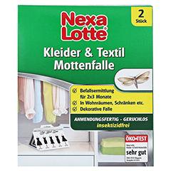 NEXA LOTTE Kleider- & Textil-Mottenfalle 2 Stück - Vorderseite