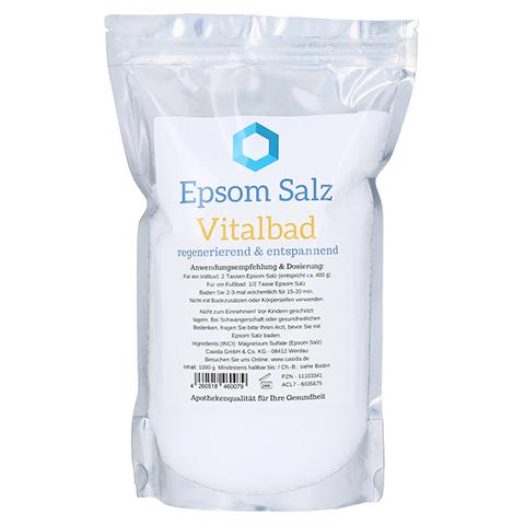 Epsom Salz Vitalbad 1 Kilogramm