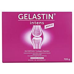 GELASTIN intens Aktiv Gel 30x24 Gramm - Vorderseite