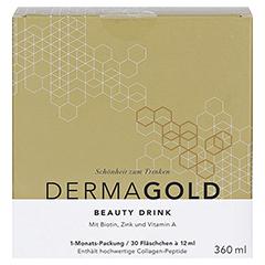 ATRO DermaGold Beauty Drink 30x12 Milliliter - Vorderseite
