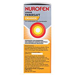 Nurofen Junior Fiebersaft Orange 2% 100 Milliliter N1 - Linke Seite