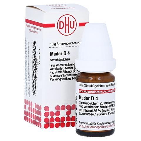 MADAR D 4 Globuli 10 Gramm N1