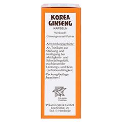 Korea Ginseng extra stark 80 Stück - Linke Seite