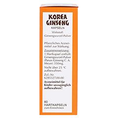 Korea Ginseng extra stark 80 Stück - Rechte Seite