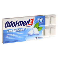 Odol-med 3 Fresh Mint Kaugummi 12 Stück