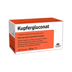 KUPFERGLUCONAT Tabletten 100 Stück
