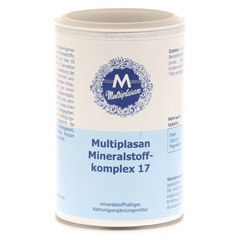 MULTIPLASAN Mineralstoffkompex 17 Tabletten 350 Stück